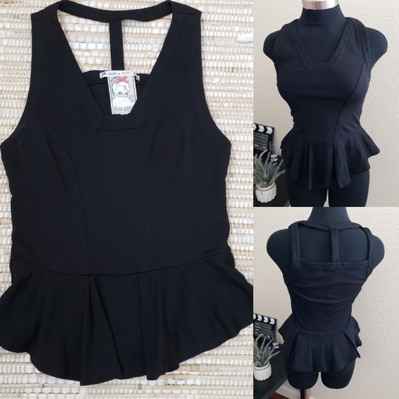 Anthropologie Tops - Yoana Baraschi black tank Sz S